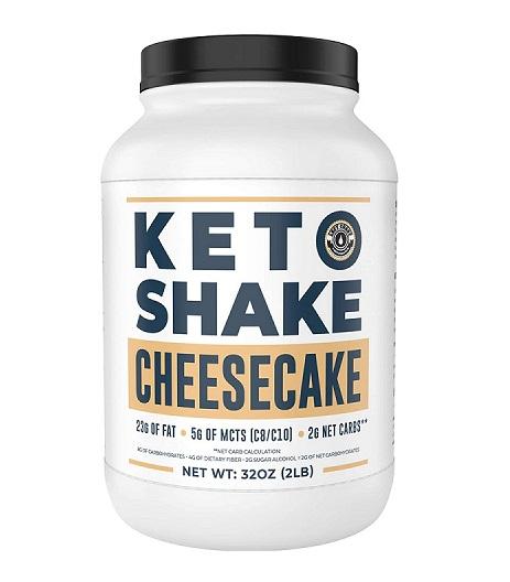 Keto Shake Cheesecake